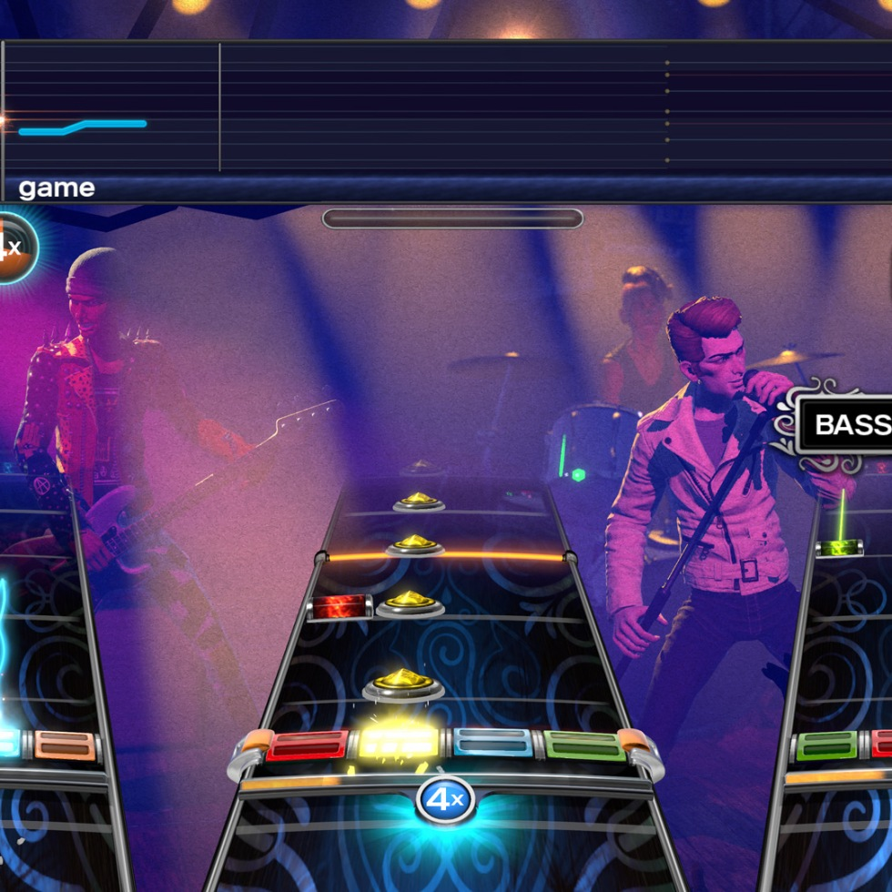 Rock Band 4 Harmonix