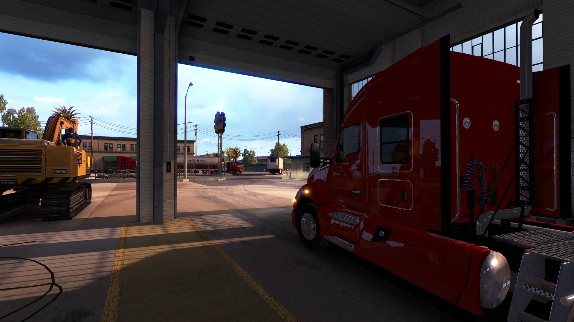 American Truck Simulator Station